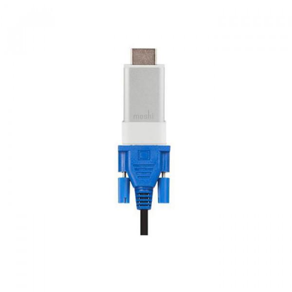 تبدیل HDMI to VGA with Audio support موشی
