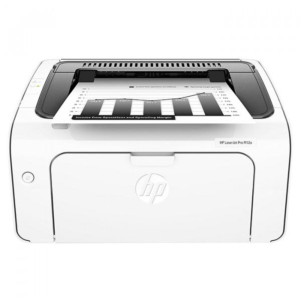 HP M12a LaserJet Pro Personal Laser Printer White