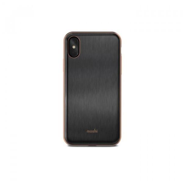 Case Moshi iGlaze iPhone X black