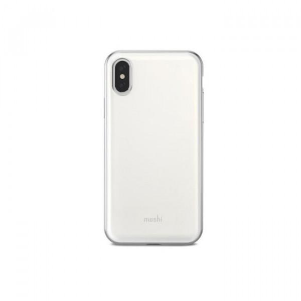 Case Moshi iGlaze iPhone X silver