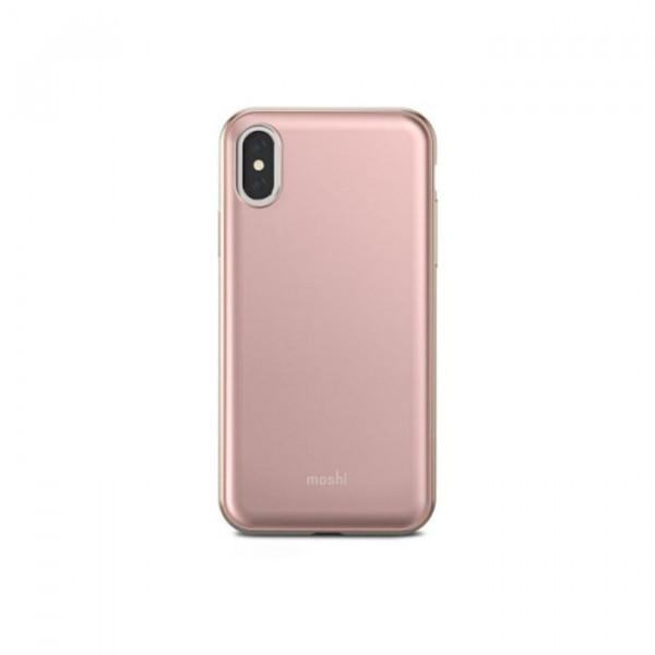 Case Moshi iGlaze iPhone X pink