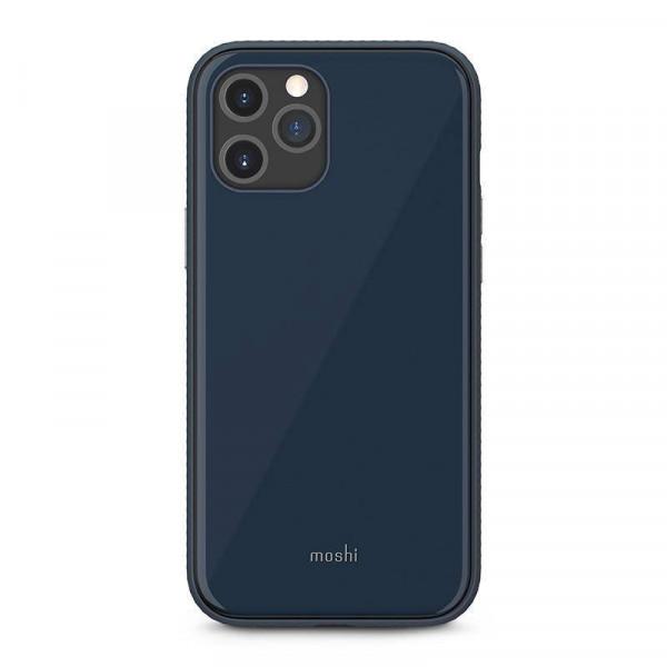 قاب موبایل مدل iGlaze سرمه ای مناسب برای آیفون 12 و 12 پرو موشی
