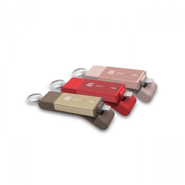 Adam Elements iKlips Duo - Apple Lightning Flash Drive full color
