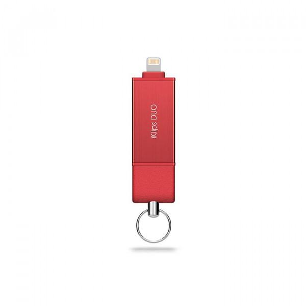 فلش درایو  Adam Elements iKlips Duo 128GB
