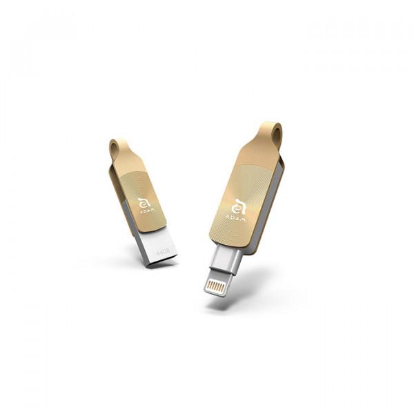 فلش درایو +Adam Elements 64GB iKlips Duo
