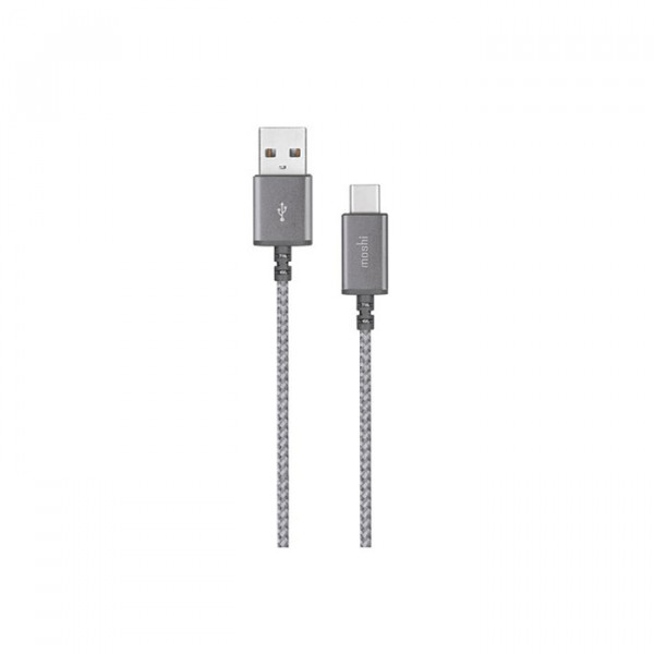 Moshi Integra USB-C to USB-A Charge/Sync Cable  Titanium Gray