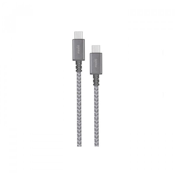 Moshi Integra USB-C to USB-C Charge/Sync Cable  Titanium Gray