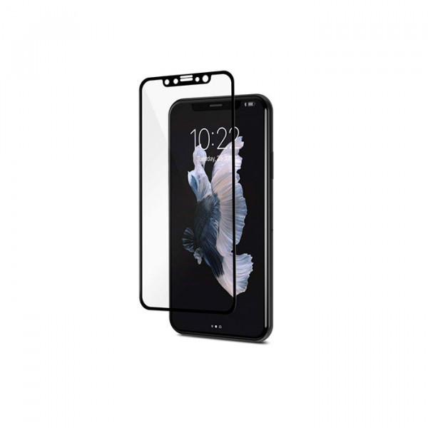 Moshi IonGlass for iPhone X Black