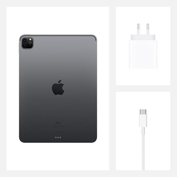 آیپد پرو 11 اینچی مشکی با ظرفیت 512 گیگابایت 2020 مدل 4G