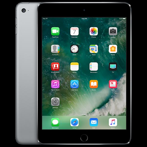آیپد مینی 4 سایز 7.9 اینچی خاکستری با ظرفیت 16 گیگابایت 2015 مدل WiFi