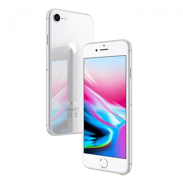 گوشی آیفون 8 نقرهای با ظرفیت 64 گیگابایت