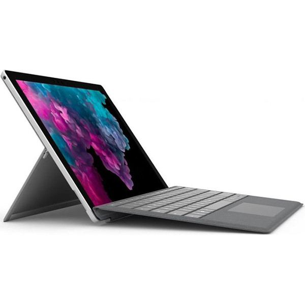 تبلت 12.3 اینچی مدل Surface Pro 6 i5-8250 U نقره ای مایکروسافت با ظرفیت 128 گیگابایت مدل WiFi