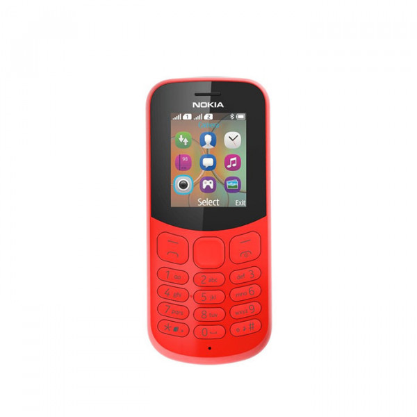 Nokia 130 2017 red
