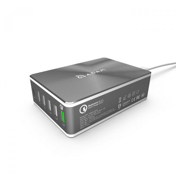 Intelligent 6-in-1 charging station