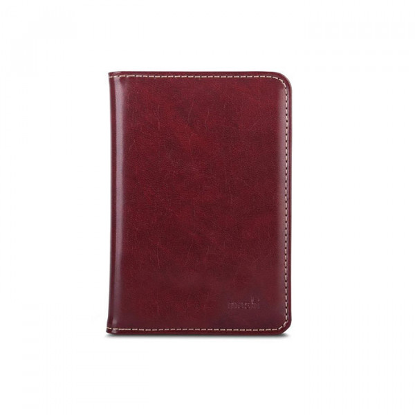 Leather Holder Moshi Brown