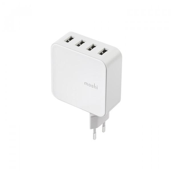 شارژر دیواری Moshi ProGeo 4-Port USB Wall Charger 35 W