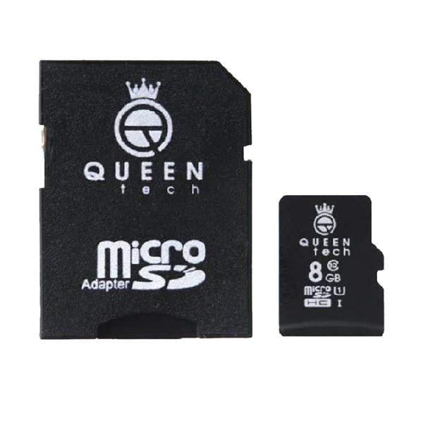 کارت حافظه MicroSD 300X کوئین تک 8 گیگابایت