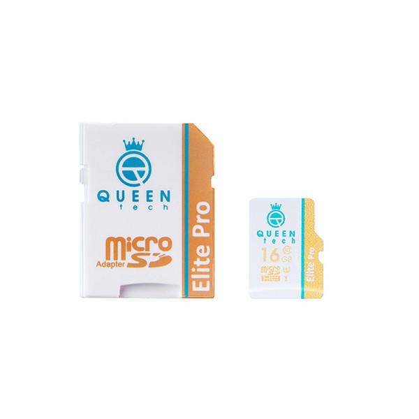 کارت حافظه MicroSD 566X کوئین تک 16 گیگابایت