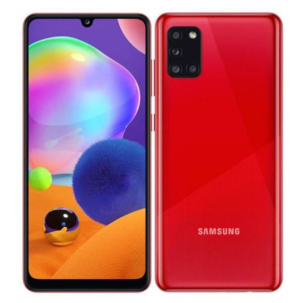 گوشی گلکسی A31 قرمز سامسونگ با ظرفیت 128 گیگابایت