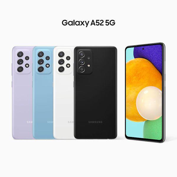 گوشی گلکسی A52 سامسونگ با ظرفیت 128 گیگابایت 5G