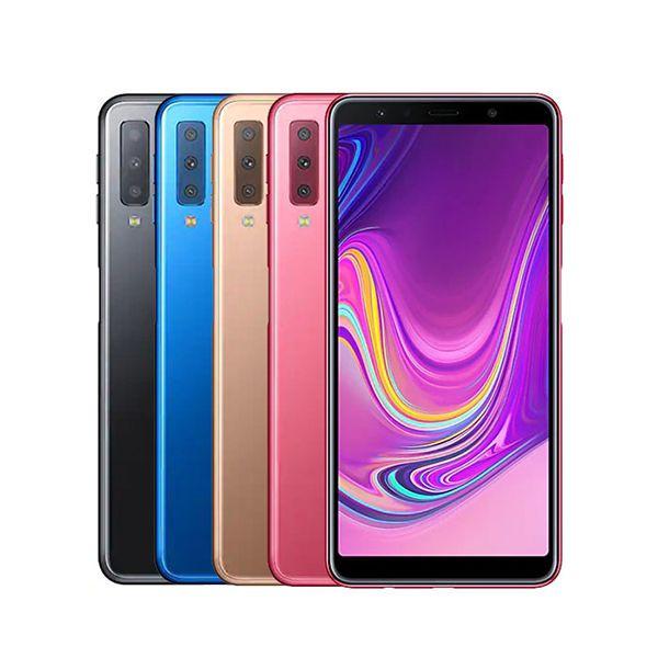 گوشی گلکسی A7 سامسونگ با ظرفیت 128 گیگابایت مدل 2018