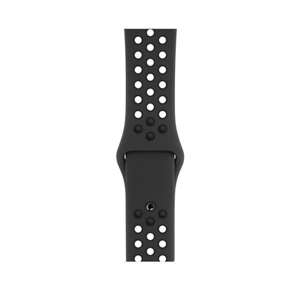 ساعت هوشمند اپل واچ نایک پلاس سری 4 سایز 40 میلیمتر خاکستری با بند مشکی