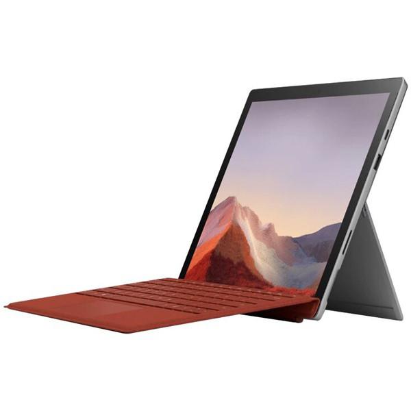 تبلت 12.3 اینچی مدل Surface Pro 7 i3-1005G1 نقره ای مایکروسافت با ظرفیت 128 گیگابایت