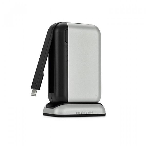 Just Mobile TopGum silver/black