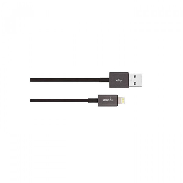 USB Cable With Lightning black