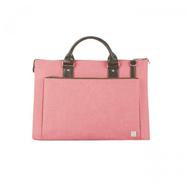 briefcase Moshi Urbana pink