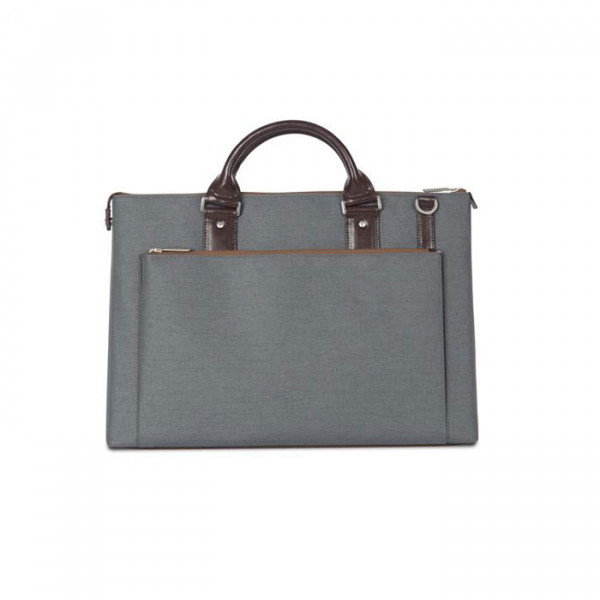 briefcase Moshi Urbana Gray