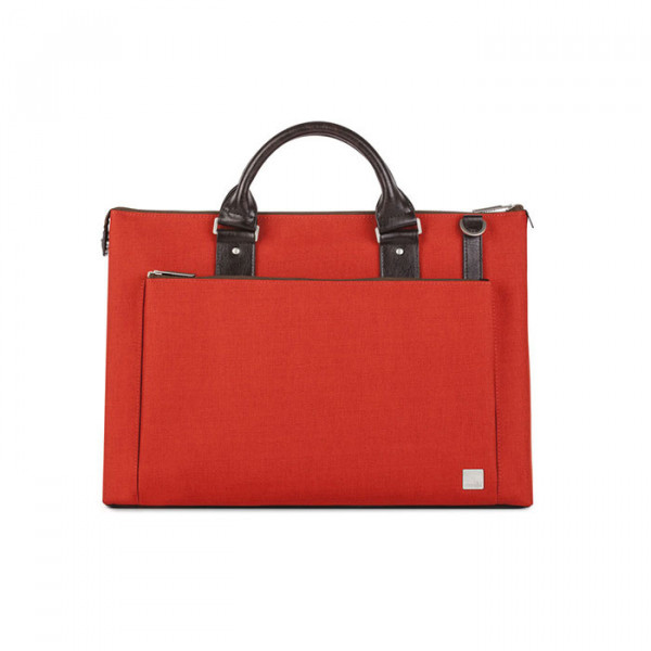 briefcase Moshi Urbana Mineral red
