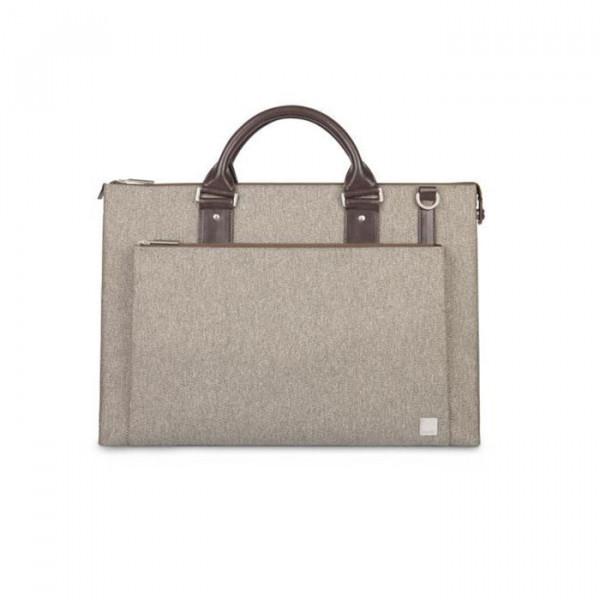 briefcase Moshi Urbana Mineral Gray