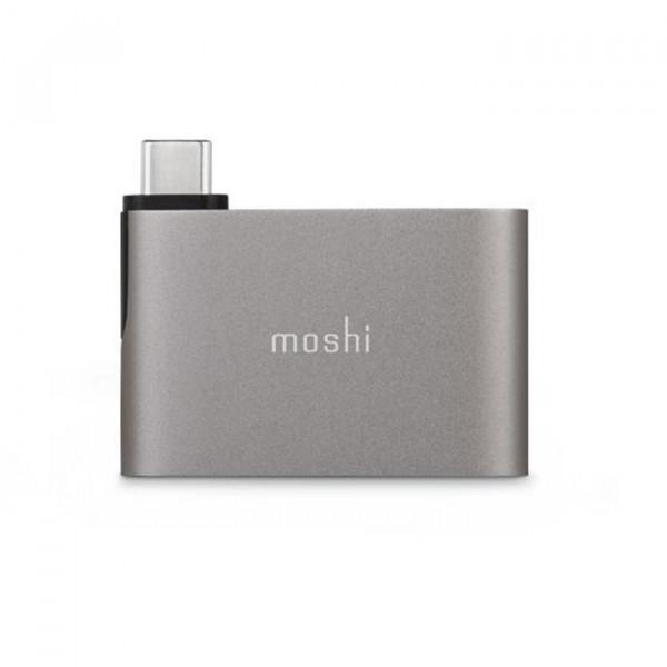 پورت USB-C به Dual USB-A موشی خاکستری