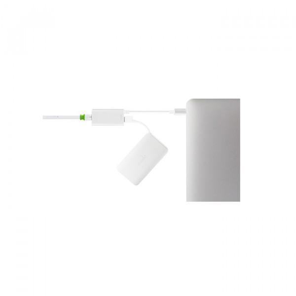 Moshi USB-C to Gigabit Ethernet Adapter  Silver