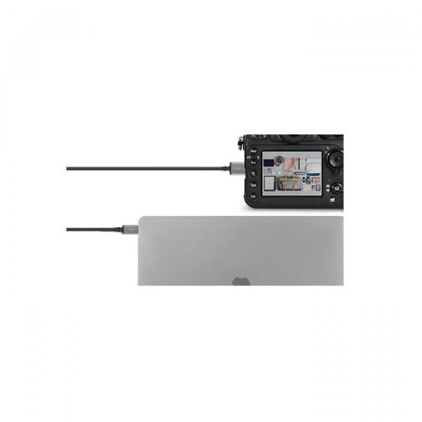 کابل Moshi USB-C to Micro-B