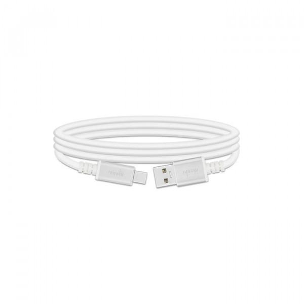 کابل USB-C به USB موشی سفید