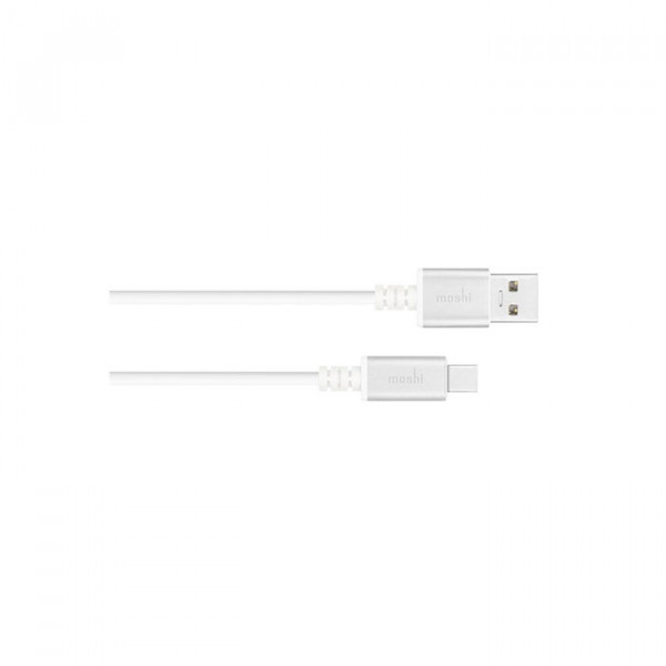 کابل Moshi USB-C to USB 1 m  silver