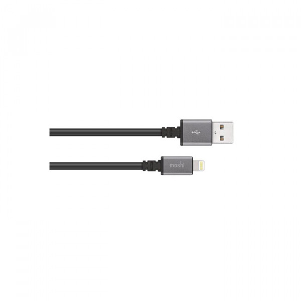 USB Cable Moshi  With Lightning Black