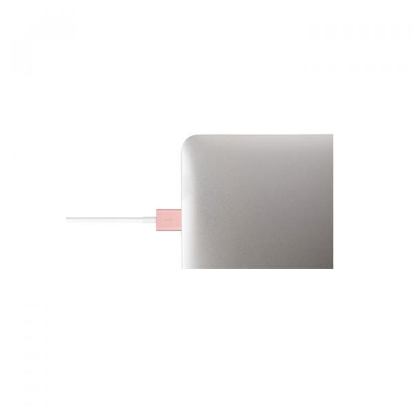 کابل موشی USB With Lightning رزگلد