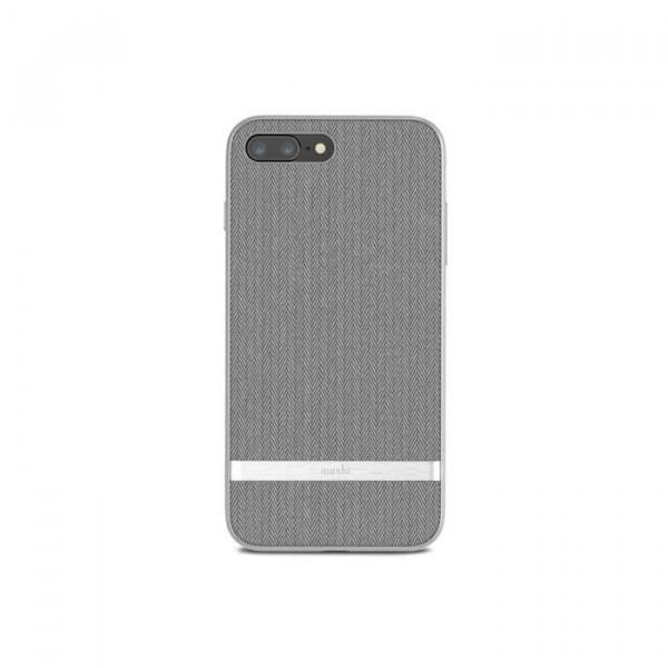 Vesta for iPhone 8 Plus/7 Plus Herringbone Gray
