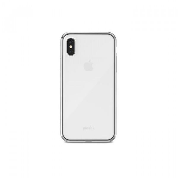قاب شیشه ای Vitros iPhone X موشی