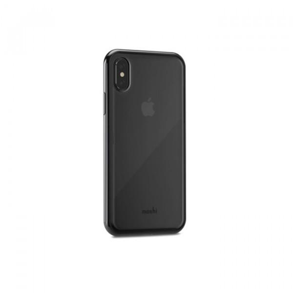 Crystal case moshi vitros iphone X Black