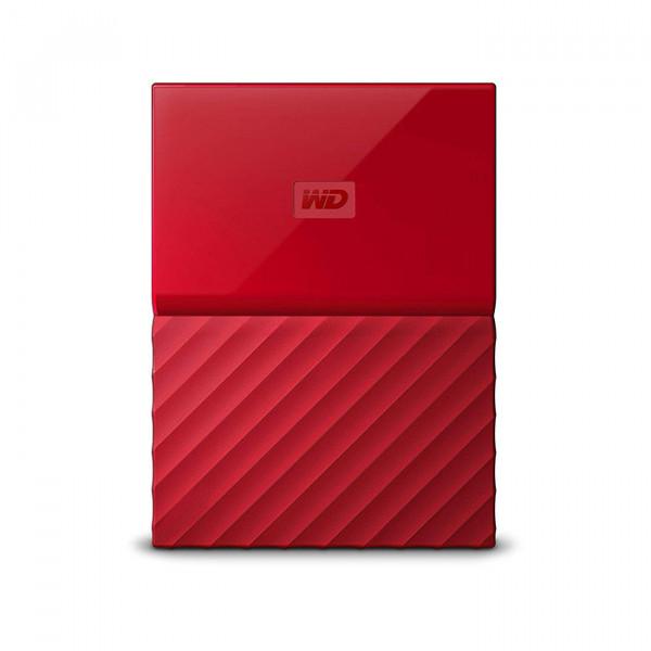 هارد اکسترنال وسترن دیجیتال قرمز