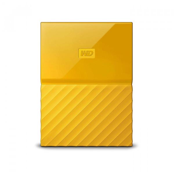 هارد اکسترنال وسترن دیجیتال زرد