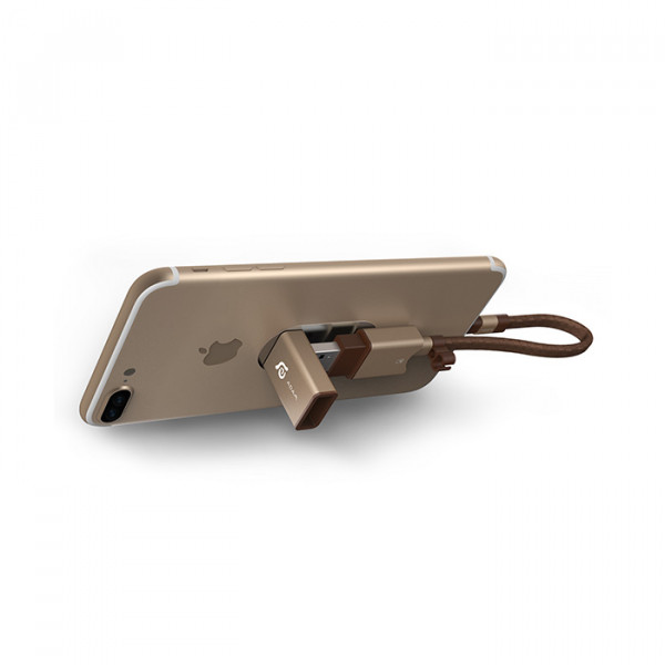 Adam Elements Wizard - Lightning/USB3.1 micro SD gold
