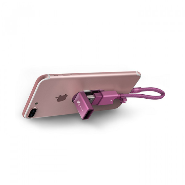 کارت خوان منعطف آدام المنتس Lightning/USB3.1 micro SD