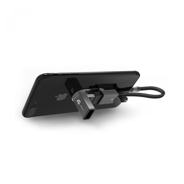 card reader adam elements 128GB  Lightning/USB3.1 black