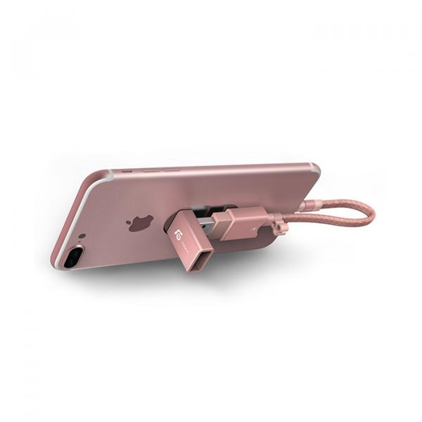 card reader Lightning/USB3.1 micro SD - 128GB Wizard