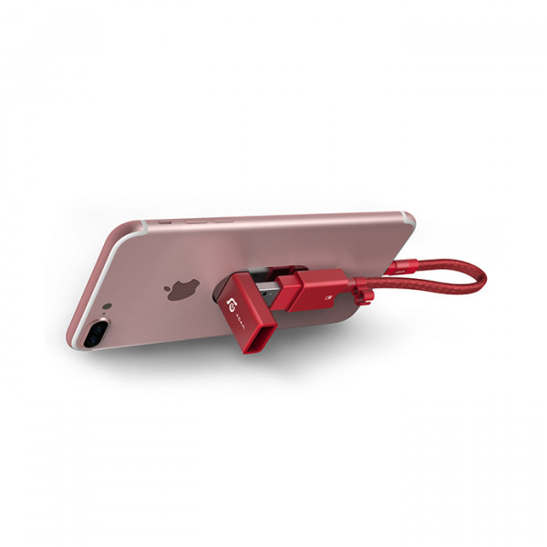 آدام المنتس Lightning/USB3.1 micro SD - 64GB